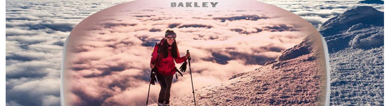 Gogle Oakley z opcją wymiany szybki i regulacją paska